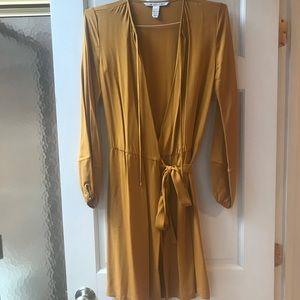 DVF Silk Wrap Dress Sz 4